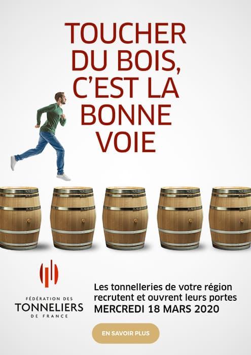 Fédération des Tonneliers de France - Dossier de presse : le 18 mars, toucher du bois, c'est la bonne voie !